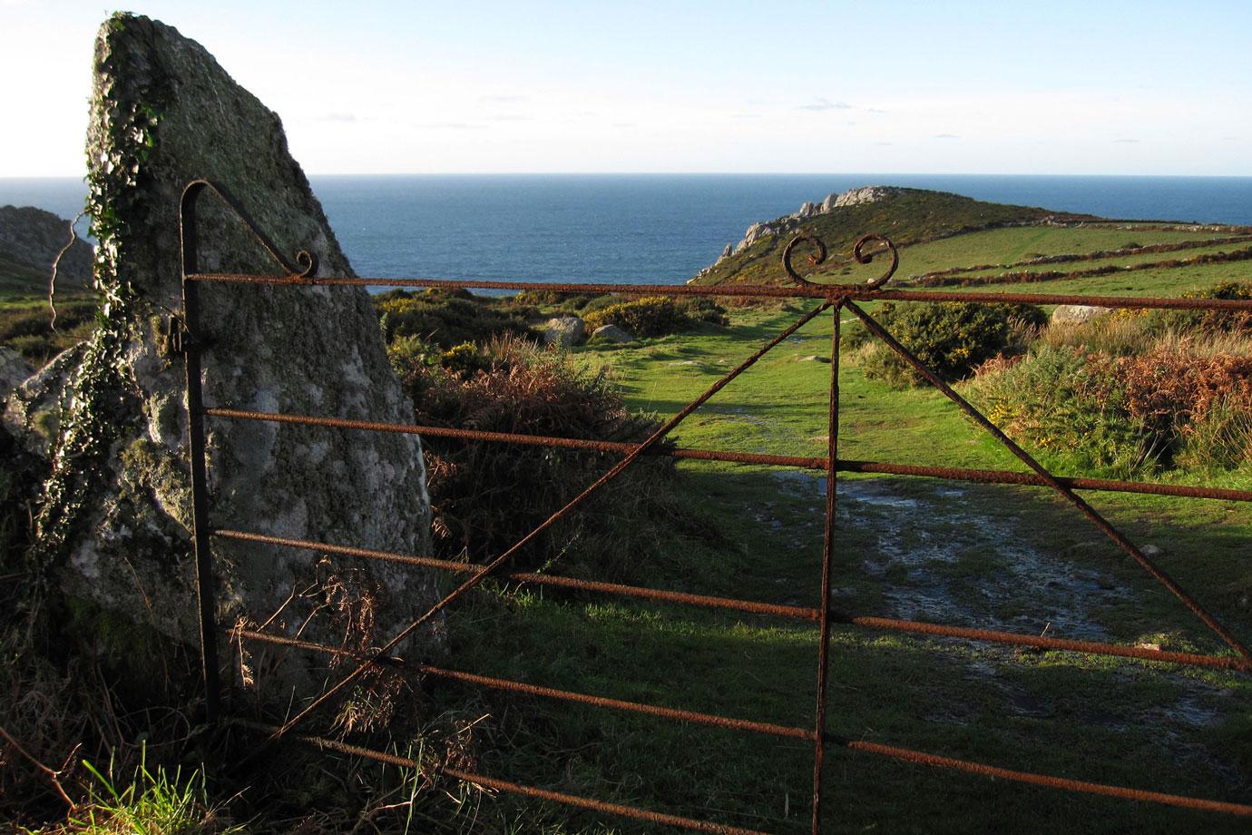 Path to Bosigran Cliff