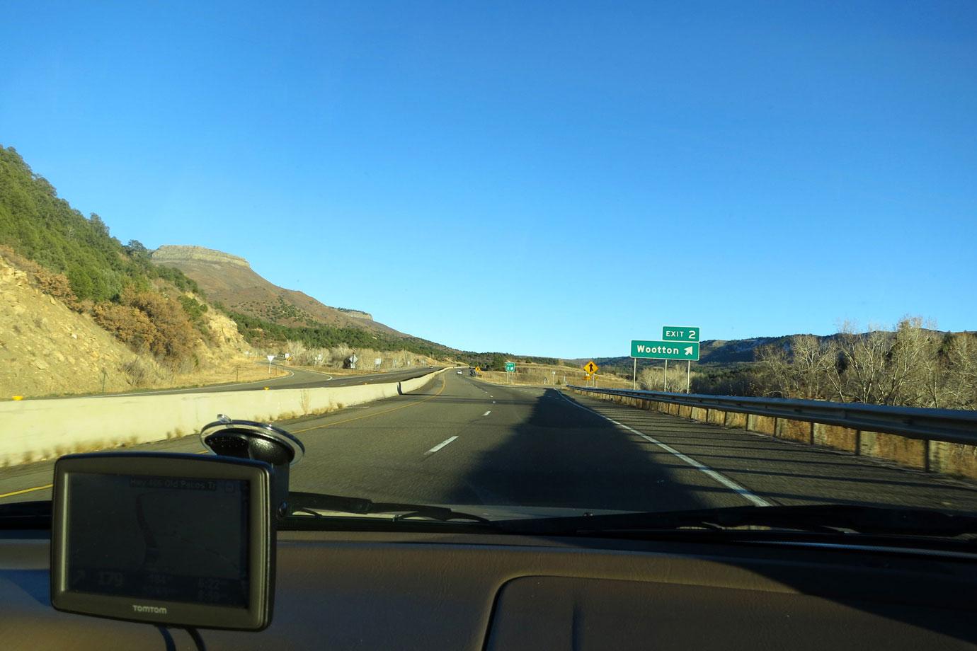 Boulder to Santa Fe