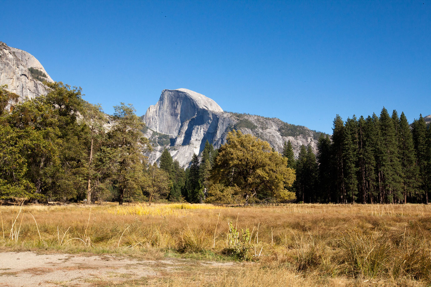 Yosemite, From the Land