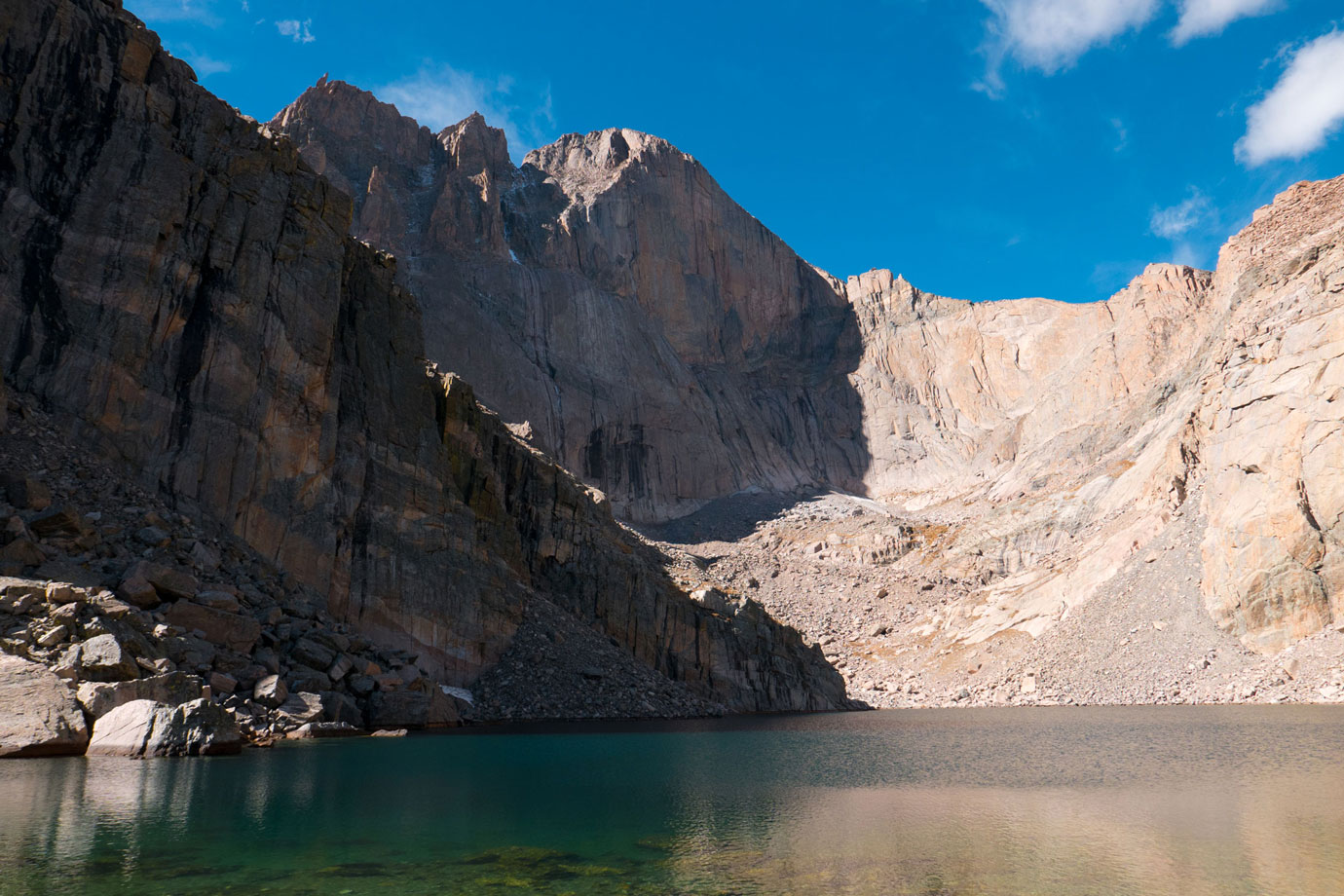 All the Way to Chasm Lake